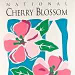"Dawn Diamond ""Cherry Blossom Festival"" poster"