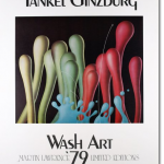 "Ginzburg ""Wash Art 79 Martine Lawrence Limited Editions"" poster"