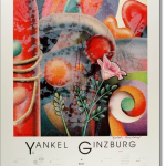 "Ginzburg ""Zimmerman Editions Art Expo 1988"" poster"