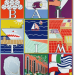 "Patricia Barry ""Baltimore"" poster print"