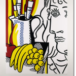 "Roy Lichtenstein ""Still Life with Picasso"" National Gallery of Art 1994 to 1995 poster"