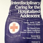 """Interdisciplinary Caring for the Hospitalized Adolescent"" poster"