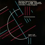 """Patient Care Issues"" poster"