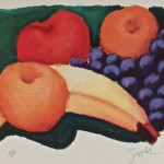 """Still Life Suite of Eight"" 1st in series of serigraphs by artist Greg Leach"