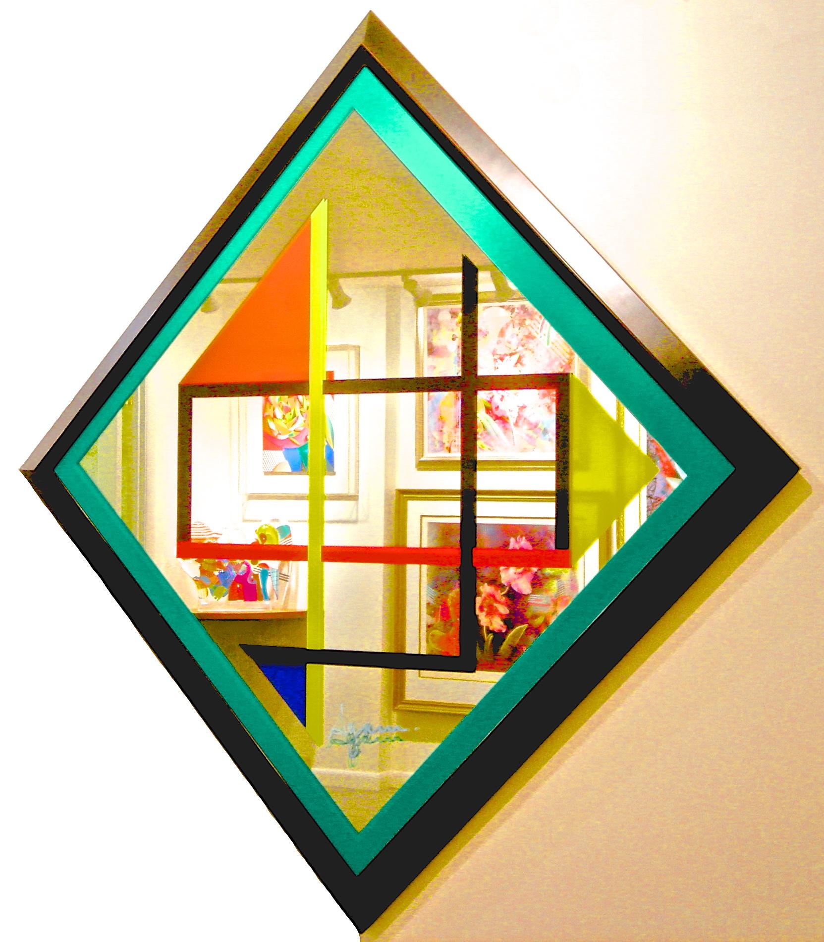 """Agam """"L'Hommage a Mondrian"""""""