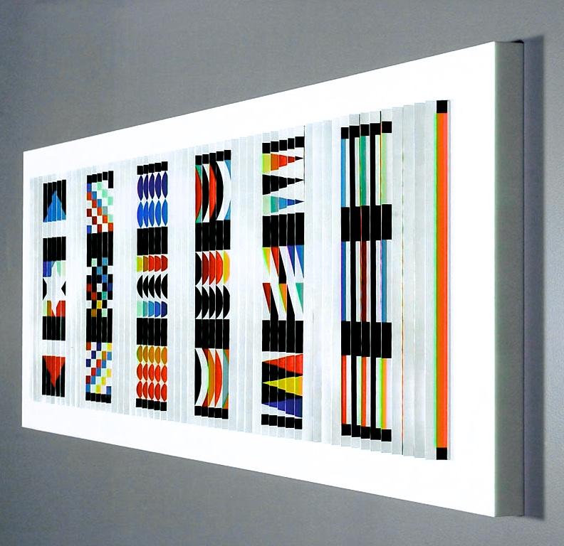 """Agam """"Rainbow Rhythm"""" view II"""