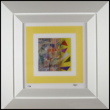 """Agam """"Guerre Yellow Agamograph"""""""
