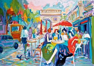 "Isaac Maimon ""Bus Stop Cafe"""