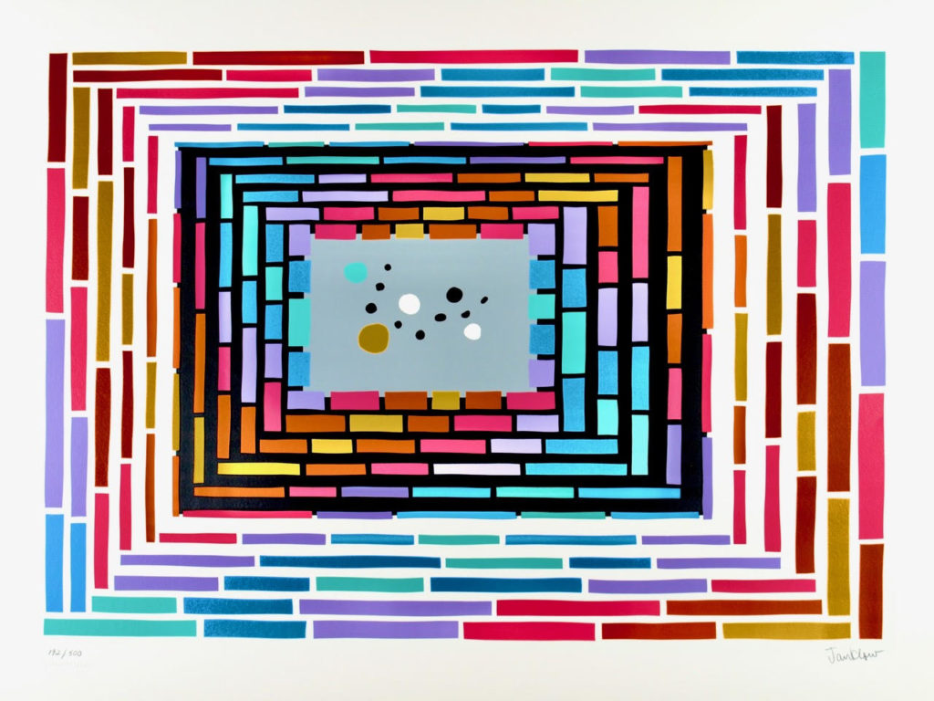 """Bamboo 52"" by artist Len Janklow"