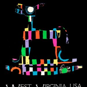 """West Virginia USA"" serigraph by Russel Hardin"