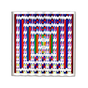 """""""Image Aquatic"""" Prismagraph Wall Sculpture, by Yaacov Agam"""